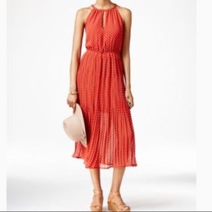 Maison Jules Chiffon Midi Dress